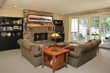 Craftsman Interior - Family Room Plan #928-54