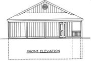 Log Style House Plan - 3 Beds 3 Baths 2640 Sq/Ft Plan #117-547 Exterior - Other Elevation