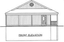 Home Plan - Log Exterior - Other Elevation Plan #117-547