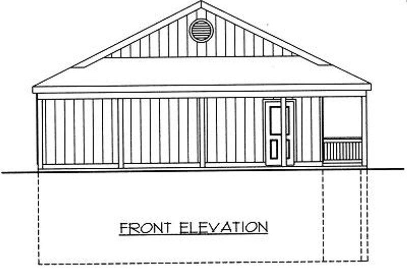 Log Exterior - Other Elevation Plan #117-547 - Houseplans.com