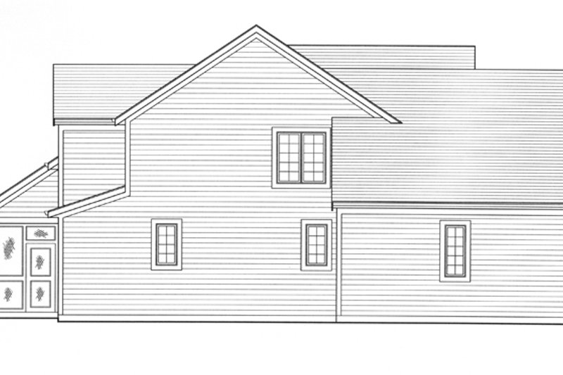 Colonial Exterior - Other Elevation Plan #46-792 - Houseplans.com