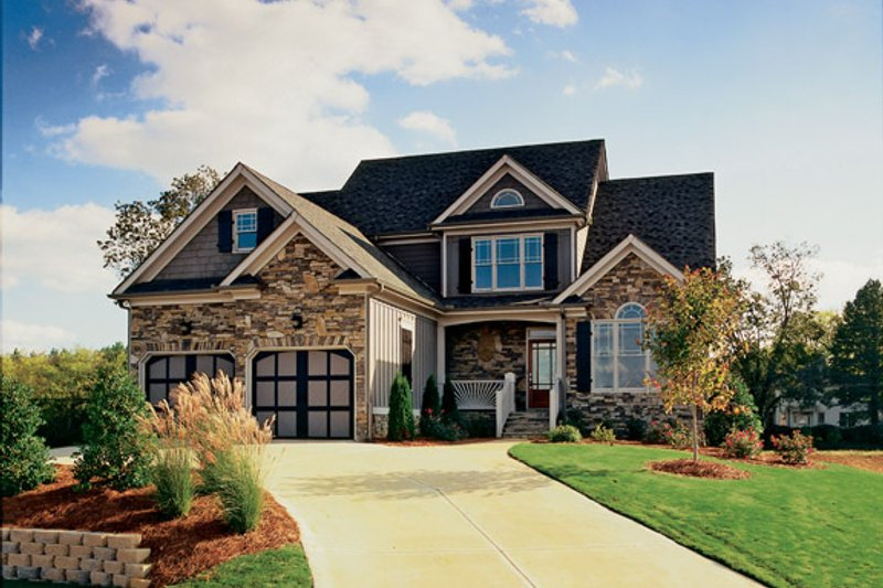 Country Exterior - Front Elevation Plan #927-696