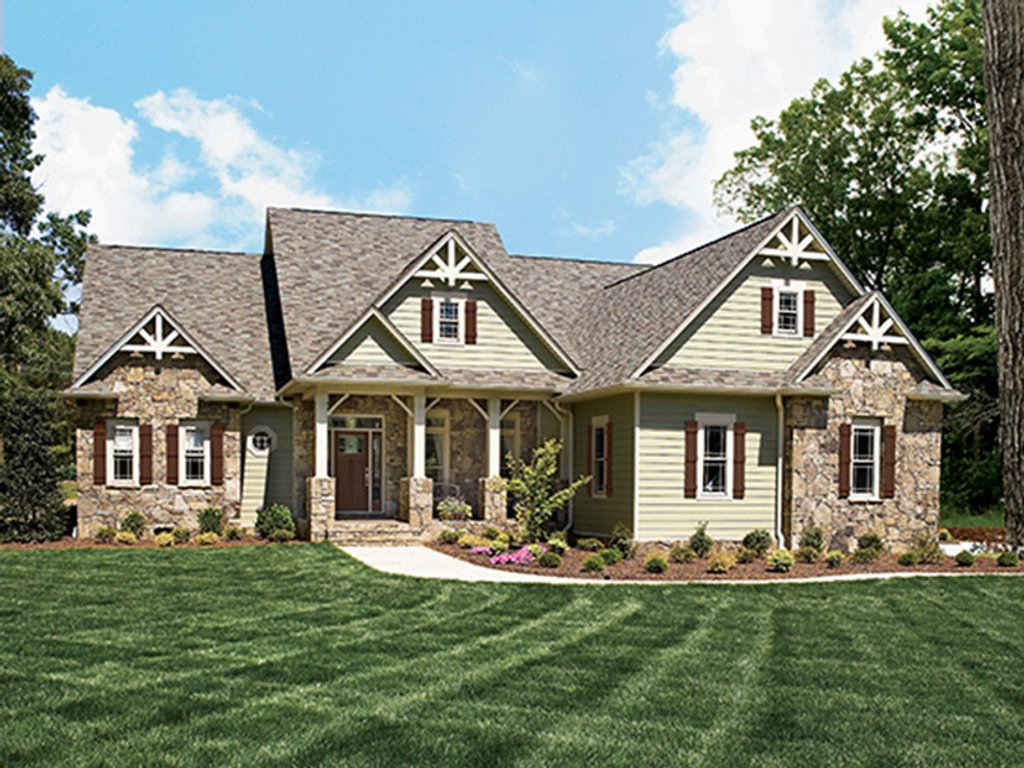 Country style house plan 3 beds 2 5 baths 2548 sq ft for Weinmaster house plans