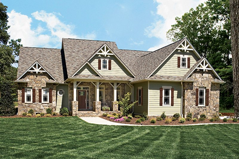 Country Exterior - Front Elevation Plan #927-169 - Houseplans.com
