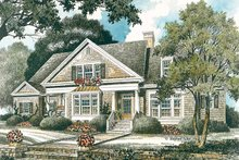 Country Exterior - Front Elevation Plan #429-335