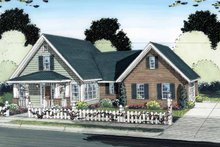 House Plan Design - Traditional Exterior - Front Elevation Plan #513-2123