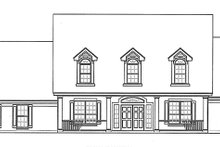 Country Exterior - Front Elevation Plan #472-230