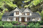 Craftsman Style House Plan - 3 Beds 2.5 Baths 2575 Sq/Ft Plan #120-248 Exterior - Front Elevation