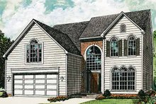 Architectural House Design - Colonial Exterior - Front Elevation Plan #453-303