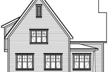 Dream House Plan - Farmhouse Exterior - Rear Elevation Plan #23-720