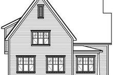 Dream House Plan - Farmhouse Exterior - Rear Elevation Plan #23-720