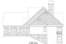 Dream House Plan - Craftsman Exterior - Other Elevation Plan #929-872
