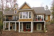 Craftsman Style House Plan - 4 Beds 3 Baths 3301 Sq/Ft Plan #929-754 Exterior - Rear Elevation