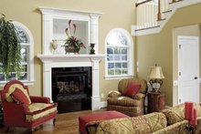 Country Interior - Family Room Plan #929-657