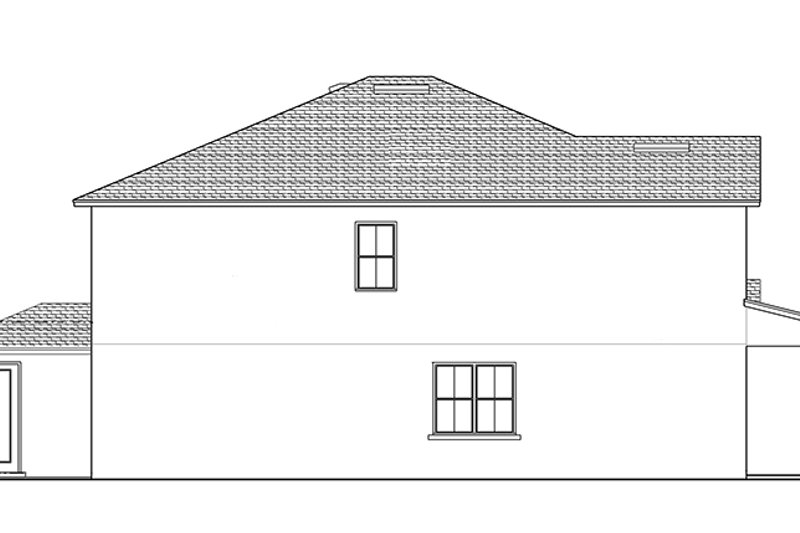 Colonial Exterior - Other Elevation Plan #1058-68 - Houseplans.com