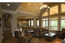 House Plan Design - Country Interior - Family Room Plan #54-367