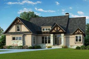 Craftsman Exterior - Front Elevation Plan #929-935