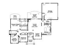 Craftsman Floor Plan - Main Floor Plan Plan #124-583