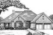 European Style House Plan - 4 Beds 2 Baths 1898 Sq/Ft Plan #310-584