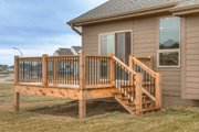 Ranch Style House Plan - 3 Beds 2.5 Baths 1426 Sq/Ft Plan #20-2290 Exterior - Outdoor Living