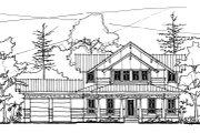Craftsman Style House Plan - 4 Beds 3.5 Baths 2538 Sq/Ft Plan #536-7 Photo