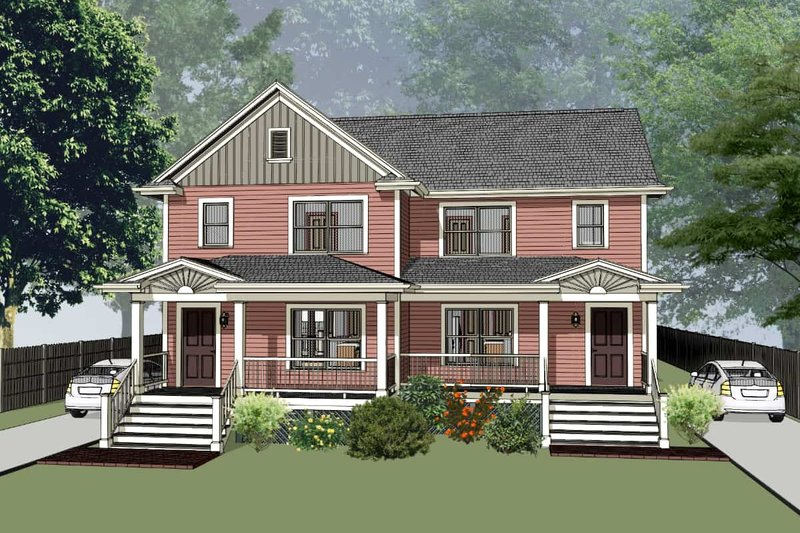 House Plan Design - Southern Exterior - Front Elevation Plan #79-240