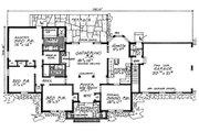 Ranch Style House Plan - 3 Beds 2 Baths 1727 Sq/Ft Plan #315-106 Floor Plan - Main Floor