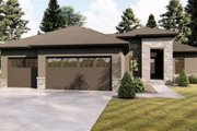 Traditional Style House Plan - 3 Beds 2 Baths 1734 Sq/Ft Plan #455-230 Exterior - Front Elevation