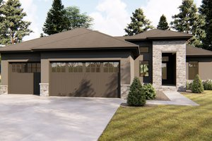 Traditional Exterior - Front Elevation Plan #455-230