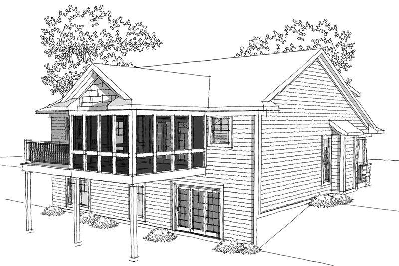 Ranch Photo Plan #70-1034 - Houseplans.com