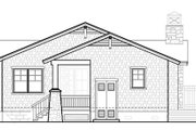 Bungalow Style House Plan - 2 Beds 2 Baths 1806 Sq/Ft Plan #490-27 Exterior - Rear Elevation
