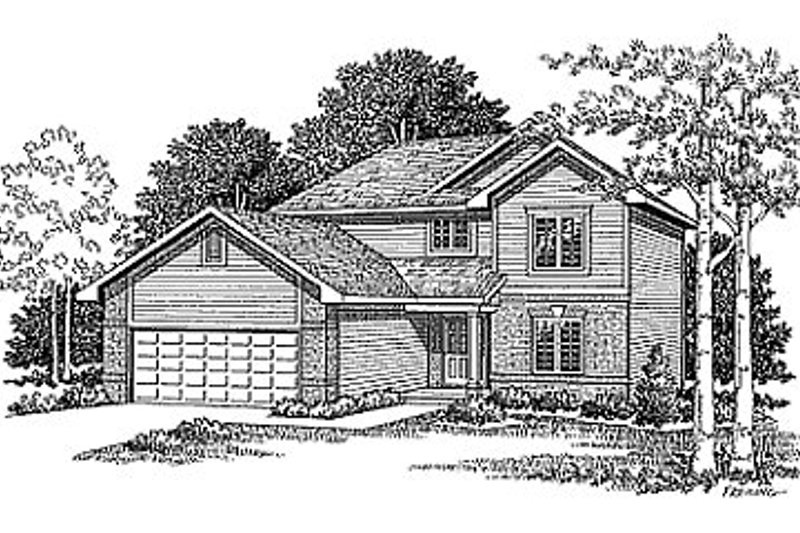 Traditional Exterior - Front Elevation Plan #70-139