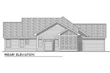 Traditional Exterior - Rear Elevation Plan #70-188