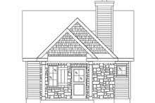 House Plan Design - Cottage Exterior - Front Elevation Plan #22-594