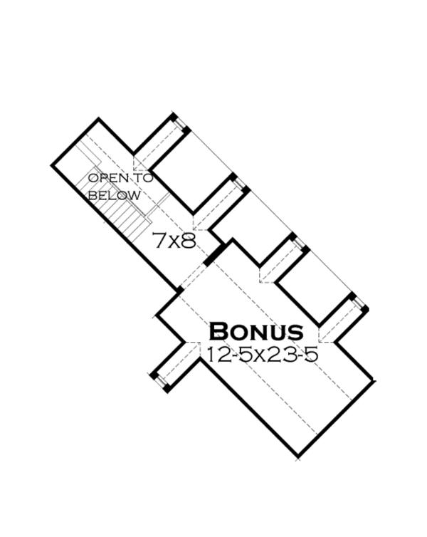 Craftsman Floor Plan - Other Floor Plan #120-246