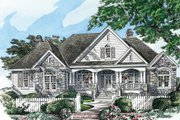 Country Style House Plan - 4 Beds 3 Baths 3140 Sq/Ft Plan #929-955 Exterior - Front Elevation