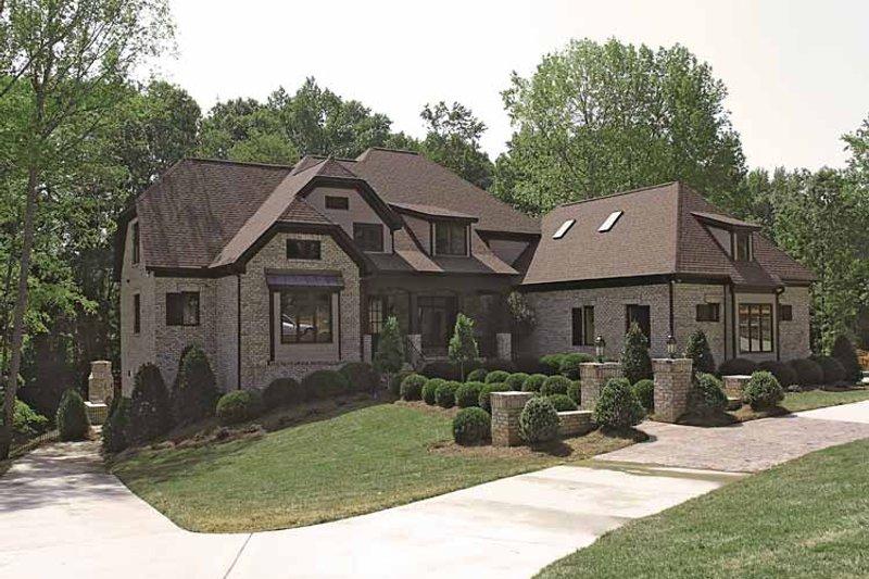 Tudor Exterior - Front Elevation Plan #453-573 - Houseplans.com