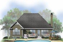 House Plan Design - Ranch Exterior - Rear Elevation Plan #929-585