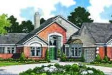 House Blueprint - Traditional Exterior - Front Elevation Plan #72-471