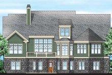 Craftsman Exterior - Rear Elevation Plan #927-343