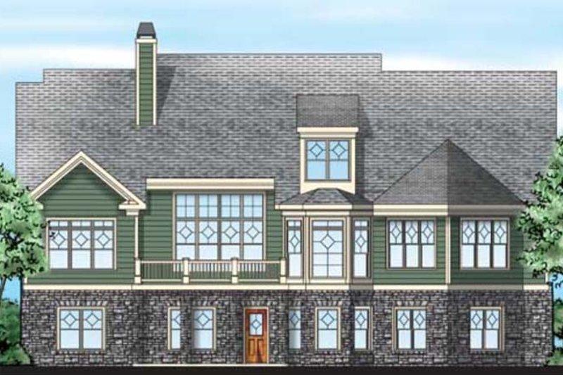 Craftsman Exterior - Rear Elevation Plan #927-343 - Houseplans.com