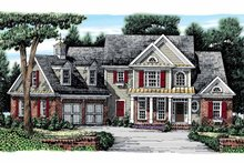 Colonial Exterior - Front Elevation Plan #927-866