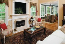 House Plan Design - Traditional Interior - Family Room Plan #927-862