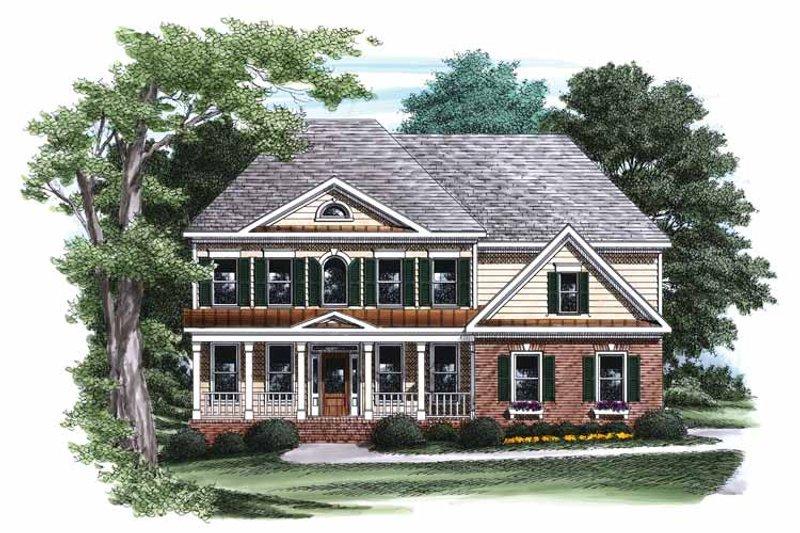 Classical Exterior - Front Elevation Plan #927-787 - Houseplans.com