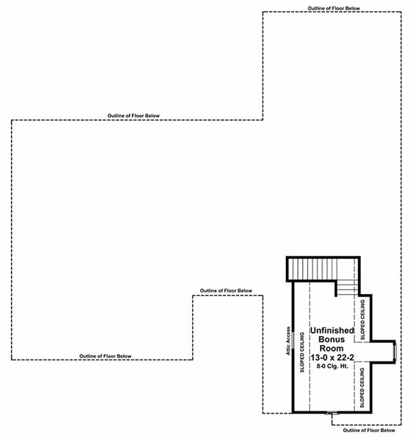 Country Floor Plan - Other Floor Plan Plan #21-196