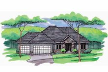 House Plan Design - European Exterior - Front Elevation Plan #51-966