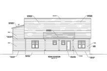 Home Plan - Farmhouse Exterior - Rear Elevation Plan #1071-9