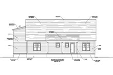 House Plan Design - Farmhouse Exterior - Rear Elevation Plan #1071-9