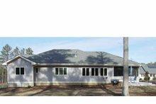 House Design - Prairie Exterior - Rear Elevation Plan #939-7