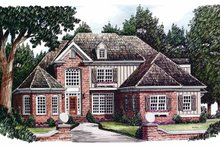 Home Plan - Country Exterior - Front Elevation Plan #927-601
